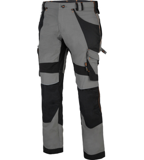 Photo de Pantalon de travail Interax Timberland Pro gris/noir