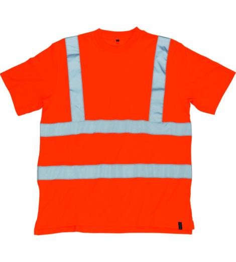 Foto von Warnschutz T-Shirt Mascot Roblin orange