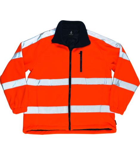 Foto von Warnschutz Fleecejacke Mascot Salzburg EN 20471 3.2 orange