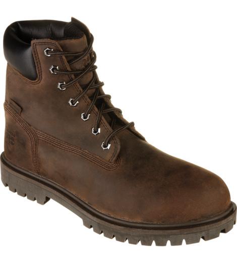 Photo de Chaussures de sécurité S3 HRO SRC WR Iconic Timberland Pro brunes