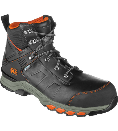Photo de Chaussures de sécurité S3 WR HRO SRC ESD Hypercharge Cuir Timberland Pro noires