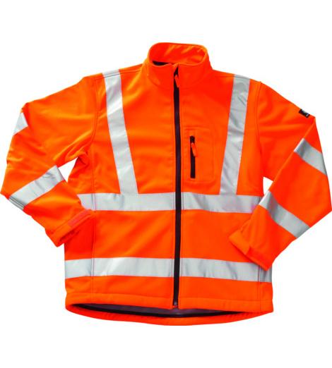 Foto von Softshelljacke Mascot Calgary EN 20471 3.2 orange