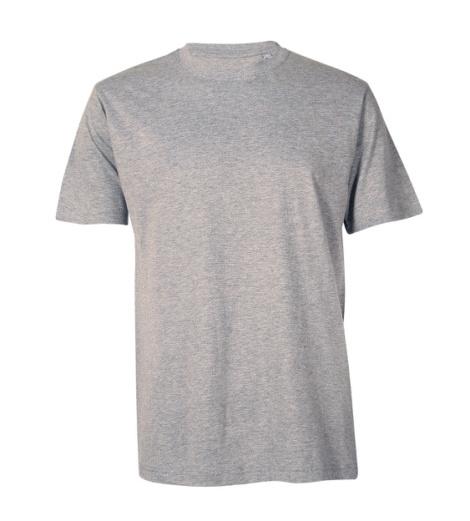 Foto von Arbeits T-Shirt Basic grau