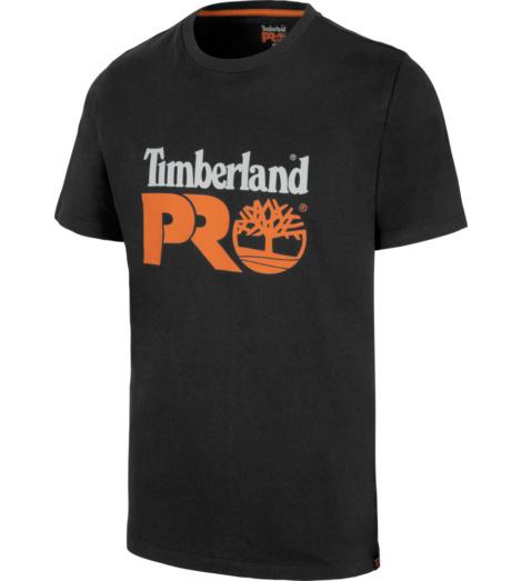 Photo de Tee-shirt de travail Core Timberland Pro noir