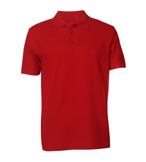 Foto von Poloshirt Basic rot