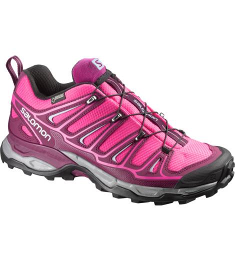 Foto von Salomon X Ultra 2 GTX® Trekkingschuh hot pink, bordeaux
