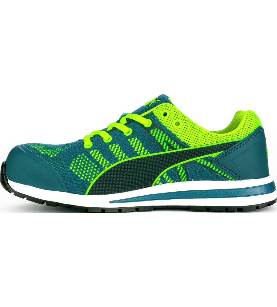 Chaussures Manfred Puma Knit Vertes Naflo 8X6T8xw