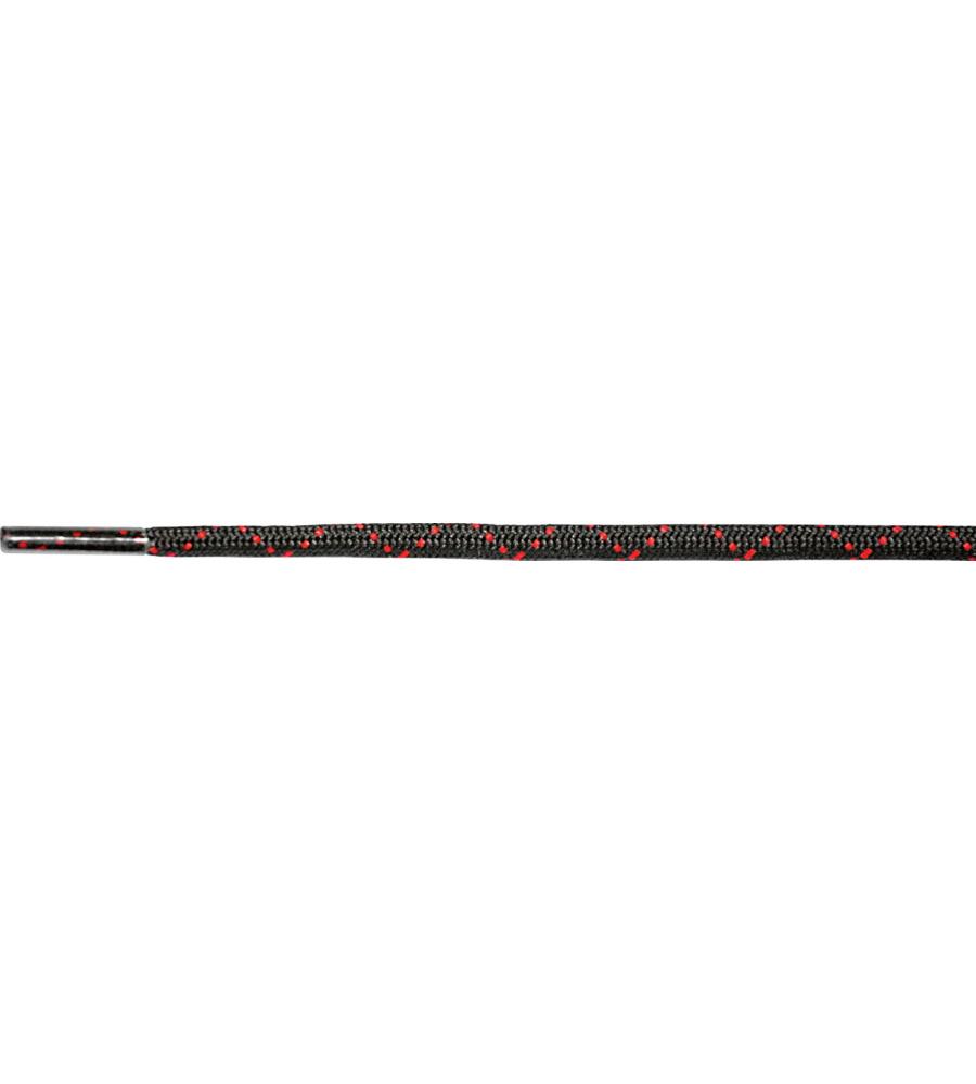 Modyf Schnürsenkel schwarz, Rot - Gr. 120 M039054120090 1