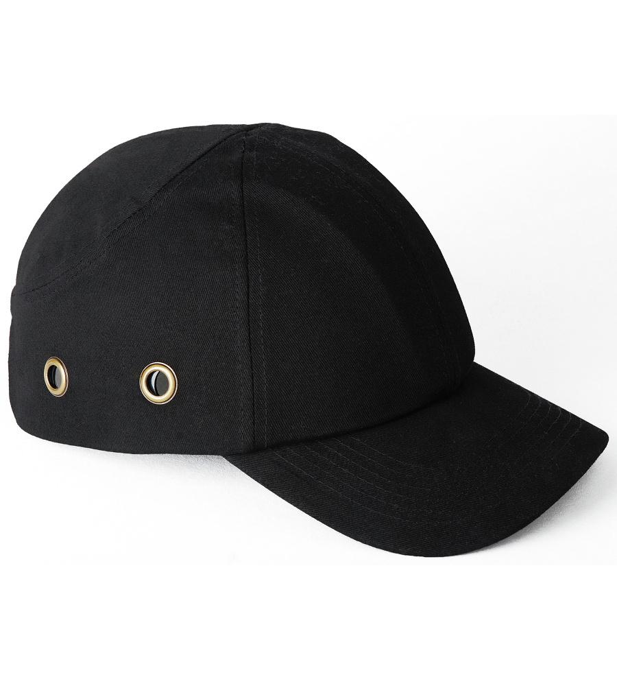 casquette anti heurt noire norm e en 812 casquettes de. Black Bedroom Furniture Sets. Home Design Ideas