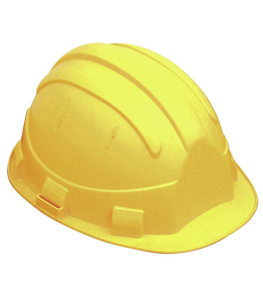 casque pour chantier btp et pour l 39 industrie jaune. Black Bedroom Furniture Sets. Home Design Ideas