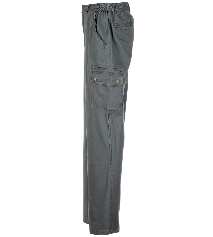 pantalon de travail gris multipoches coupe droite w rth modyf. Black Bedroom Furniture Sets. Home Design Ideas