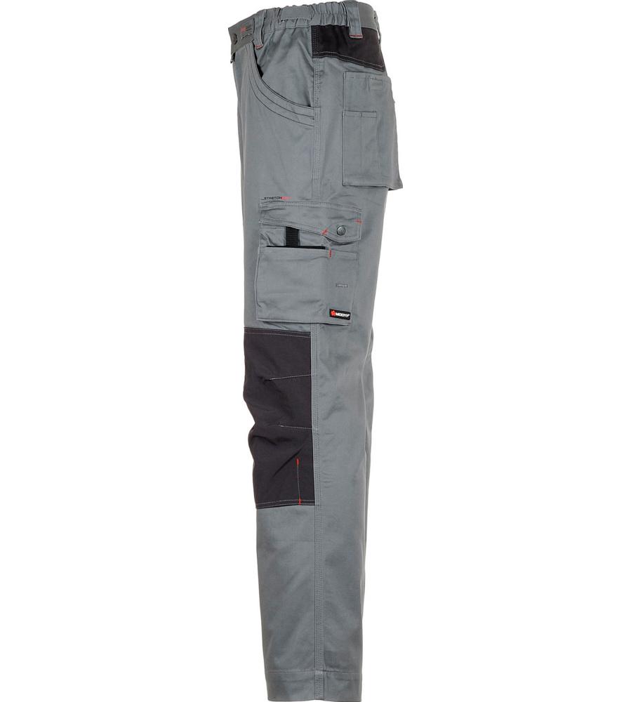 ... foto di Pantalone da lavoro elastico grigio Stretchfit ... e03bb9cf15bb