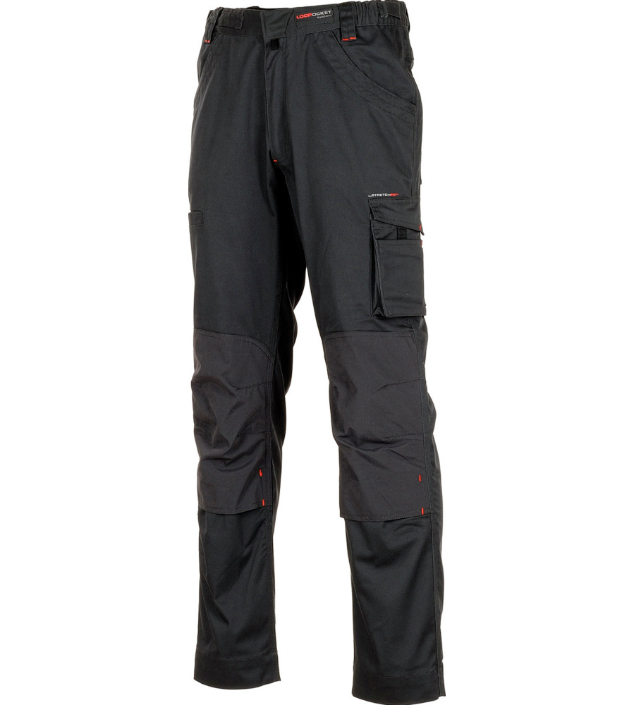 Pantalon De Travail Thermic Stretchfit Hr Würth Modyf Anthracite (photo)
