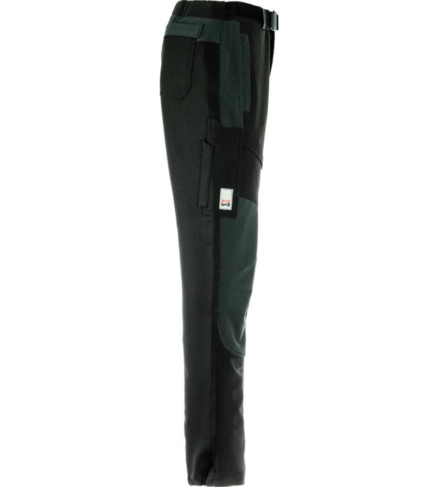 pantalon de travail stretch extensible noir et gris. Black Bedroom Furniture Sets. Home Design Ideas