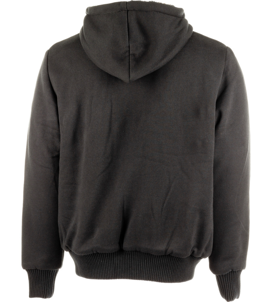 Zwarte Sweater Met Kap 84