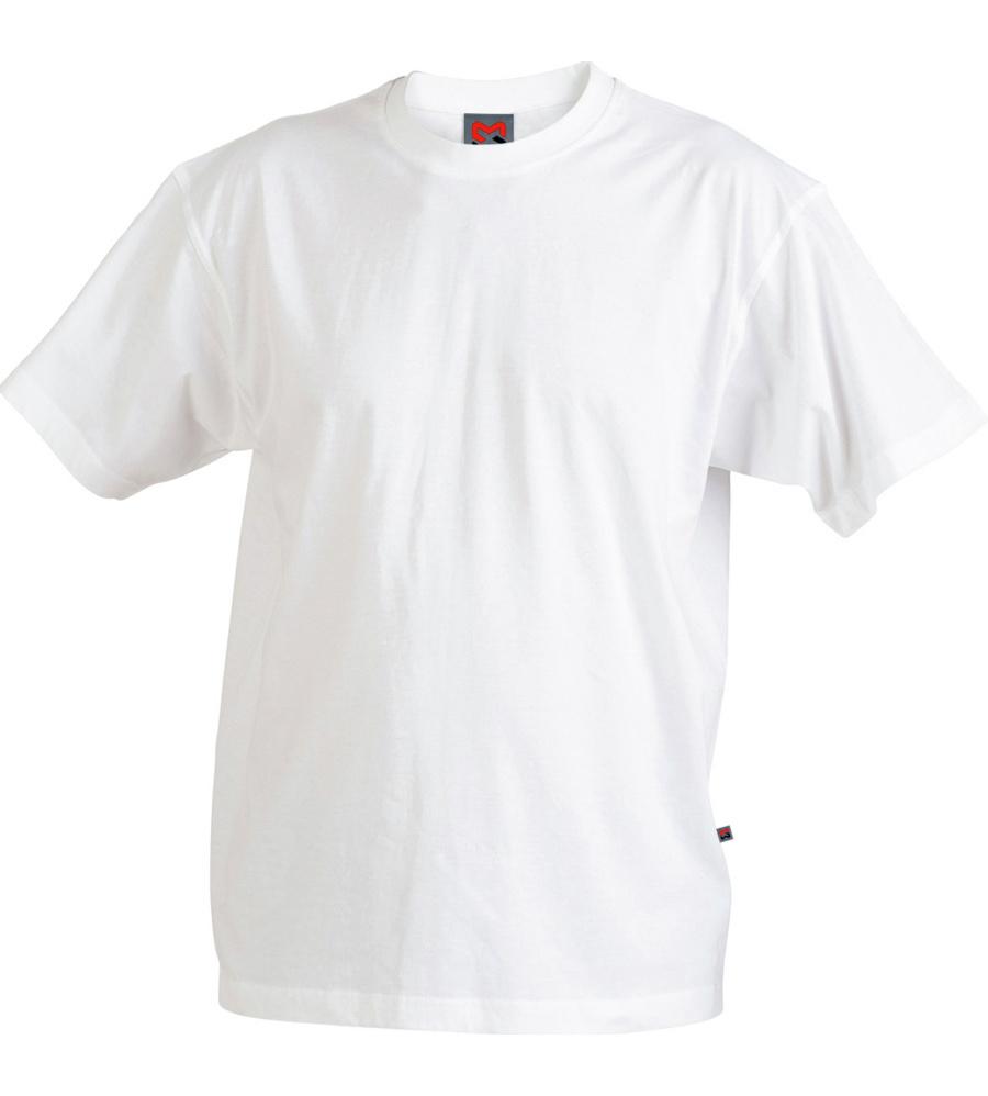 Herren T-Shirt Weiss - Gr. 3XL