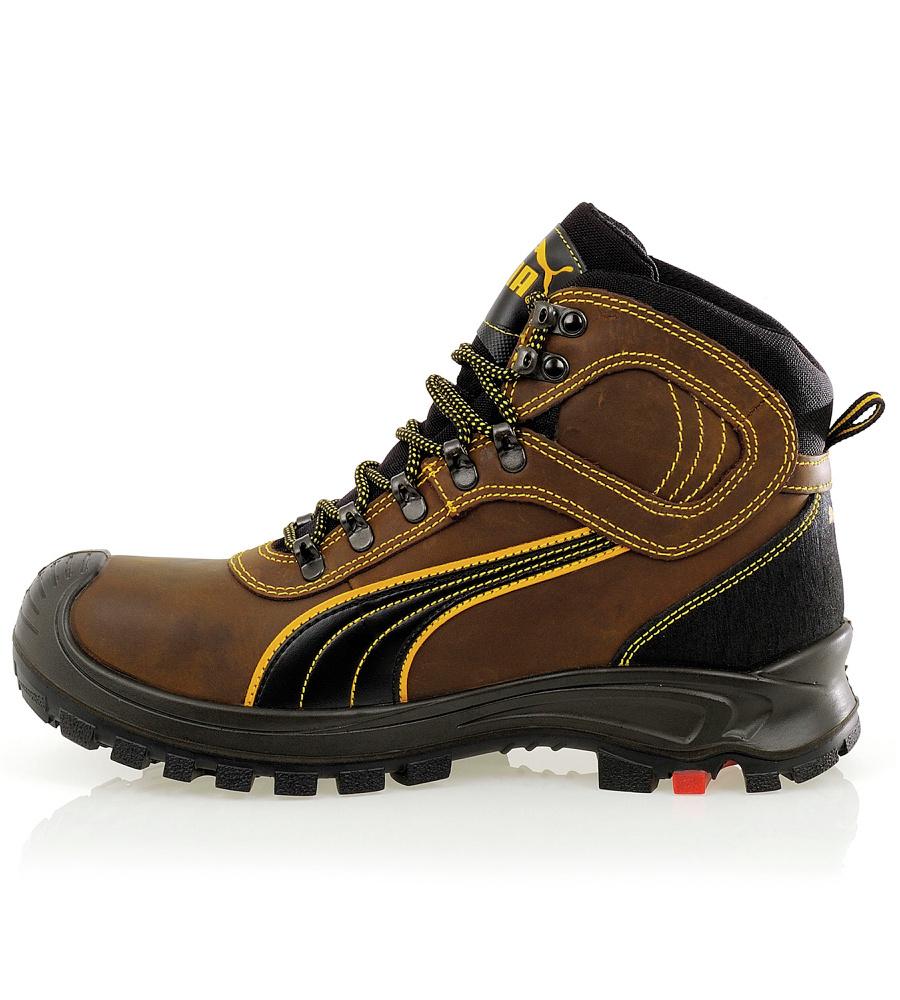 Chaussures Nevada Montantes Puma De Sierra Sécurité Hro S3 Wr Brun Src ChQrtsxd