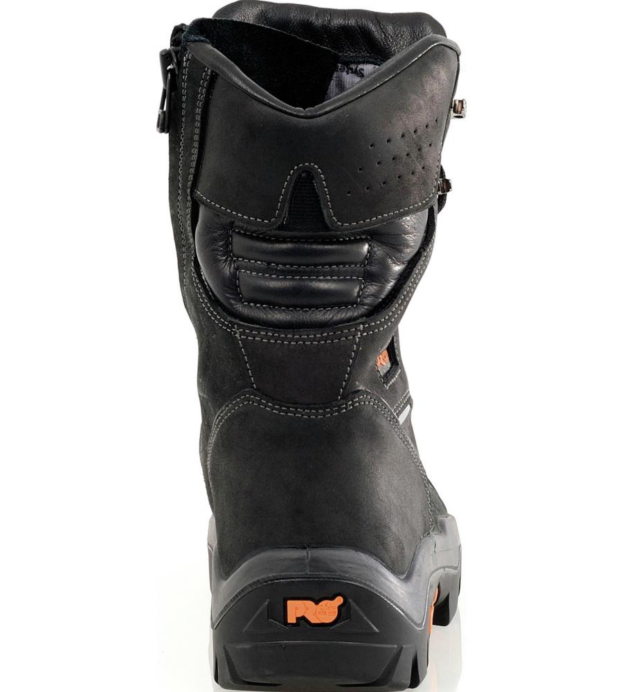 b82ce281eb8 ... Photo de Chaussures de sécurité Timberland Pro Trapper S3 CI SRC noires  ...