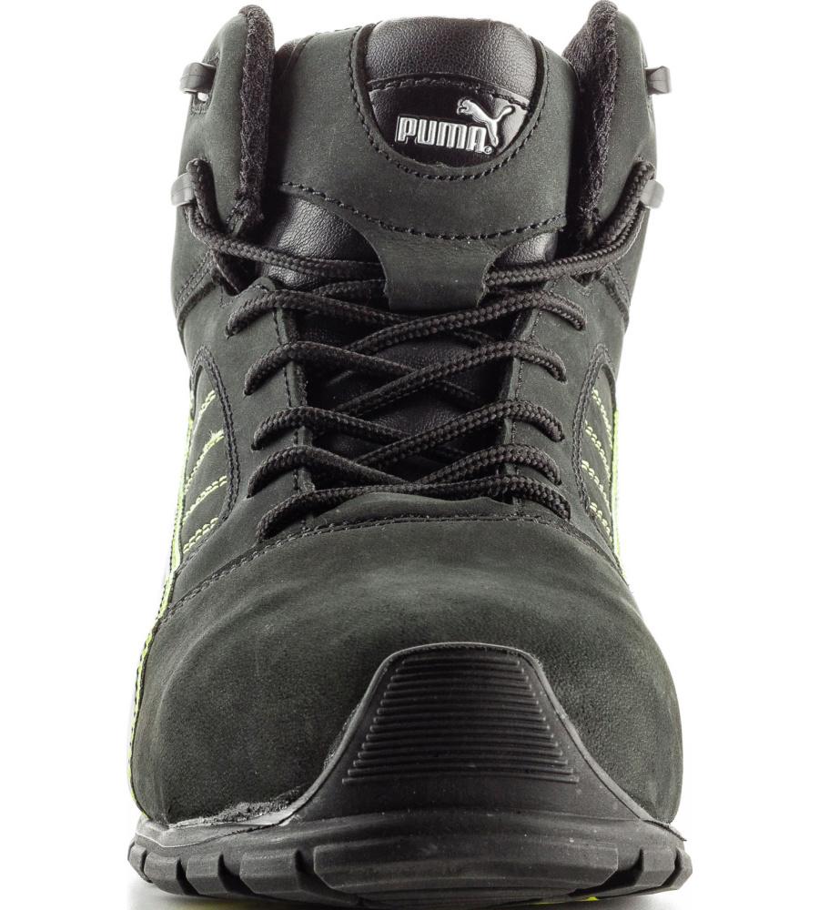 Noiresjaunes Chaussures De Sécurité S3 Puma Src Amsterdam Montantes ZuiPXk