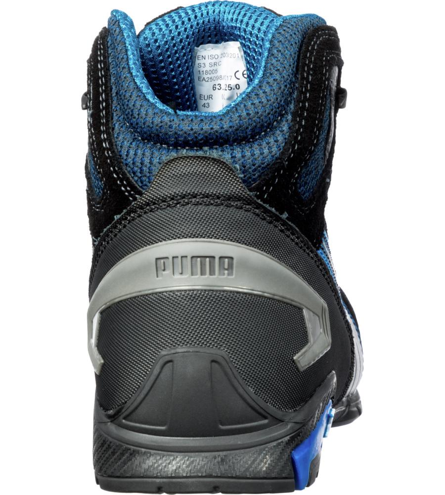 Rio Chaussures S3 Puma Noires Securite Src Bleues De cj3Lq5A4R