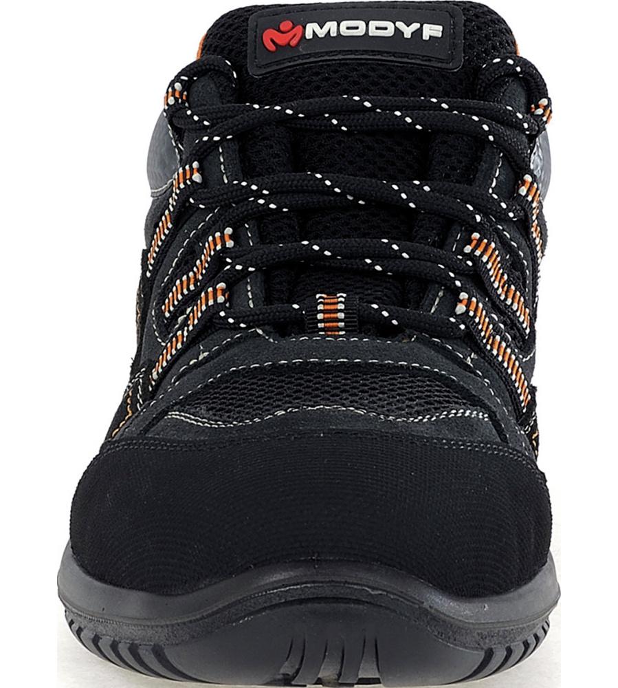 Chaussures De Travail Modyf S1p Vitesse Noir / Orange Src v7ExV6cl8