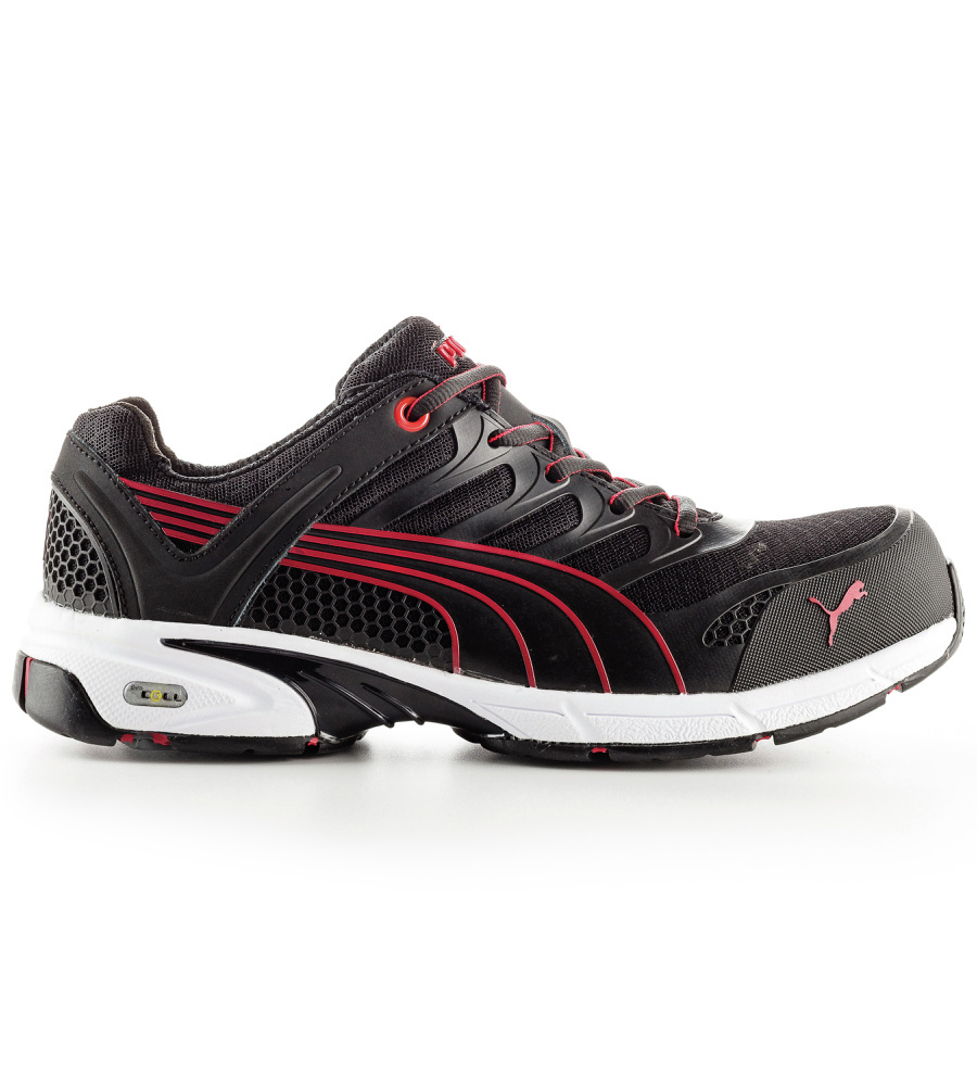 chaussures puma fuse motion red s1p de s curit. Black Bedroom Furniture Sets. Home Design Ideas