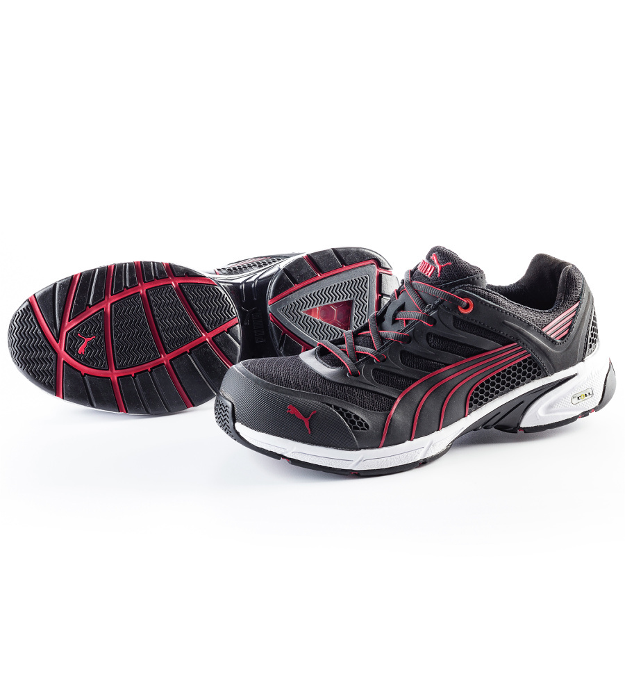 chaussures de securite puma fuse motion s1p hro sra red. Black Bedroom Furniture Sets. Home Design Ideas