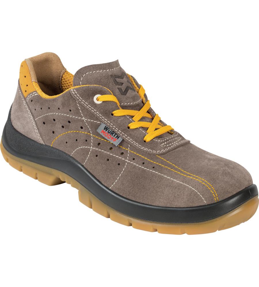 scarpa antinfortunistica uomo  Scarpa antinfortunistica per uomo e donna in pelle comoda e flessibile