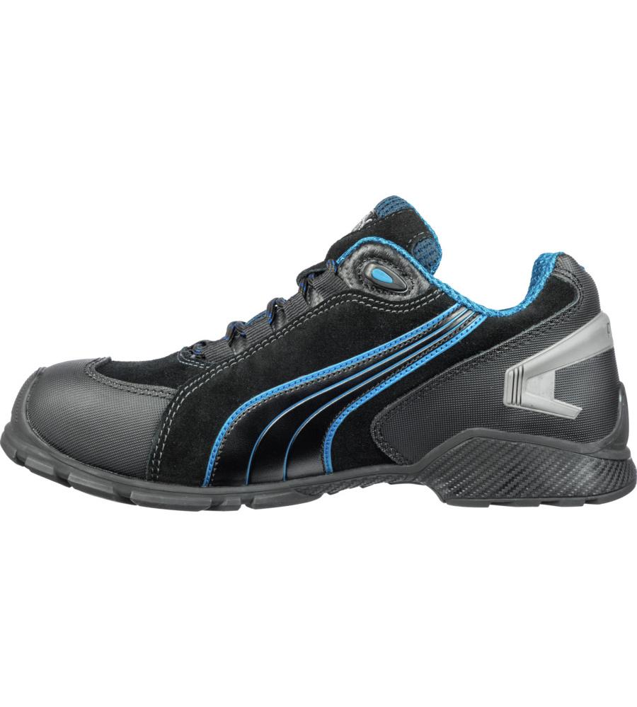 ... Safety Shoes noires et bleues avec coque en aluminium, légères et ·  Photo de Chaussures de sécurité S3 SRC Puma Rio noires bleues ... 5f0240cade91