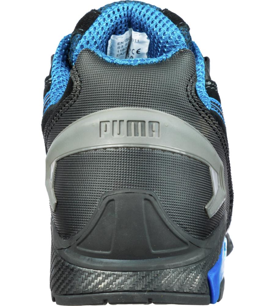 ... avec coque en aluminium, légères et Puma Safety Shoes. Previous. Photo  de Chaussures de sécurité S3 SRC Puma Rio noires bleues ... 942be7389b24
