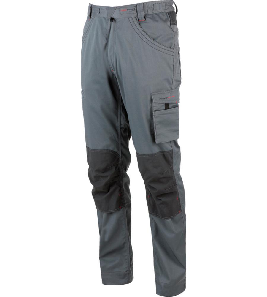 Modyf Arbeitshose Stretchfit HR grau - Gr. XL M303148003090 1