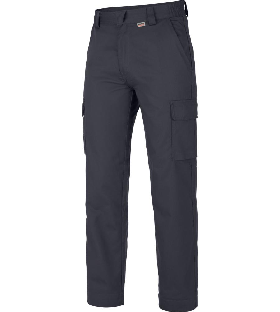 Pantalon De Travail Hiver Classic Würth Modyf Marine (photo)
