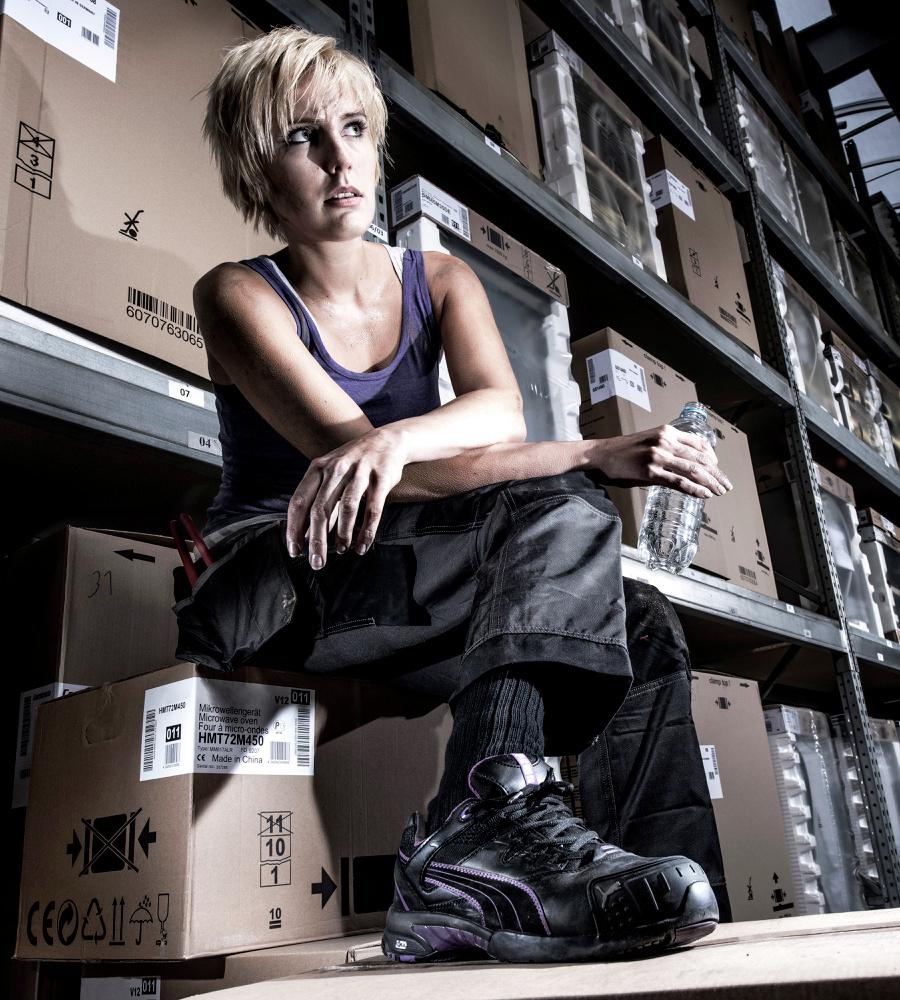 chaussure de securite femmes montante puma