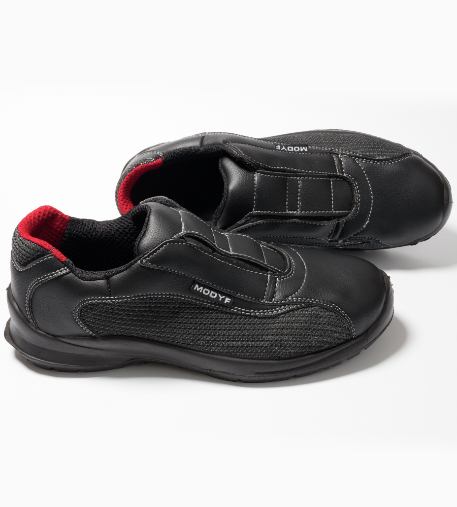Photo de Chaussures de sécurité sans lacet Oxygène S1P SRC noires
