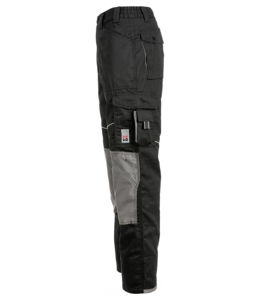 pantalon de travail noir et gris pour professionnels du btp w rth modyf. Black Bedroom Furniture Sets. Home Design Ideas