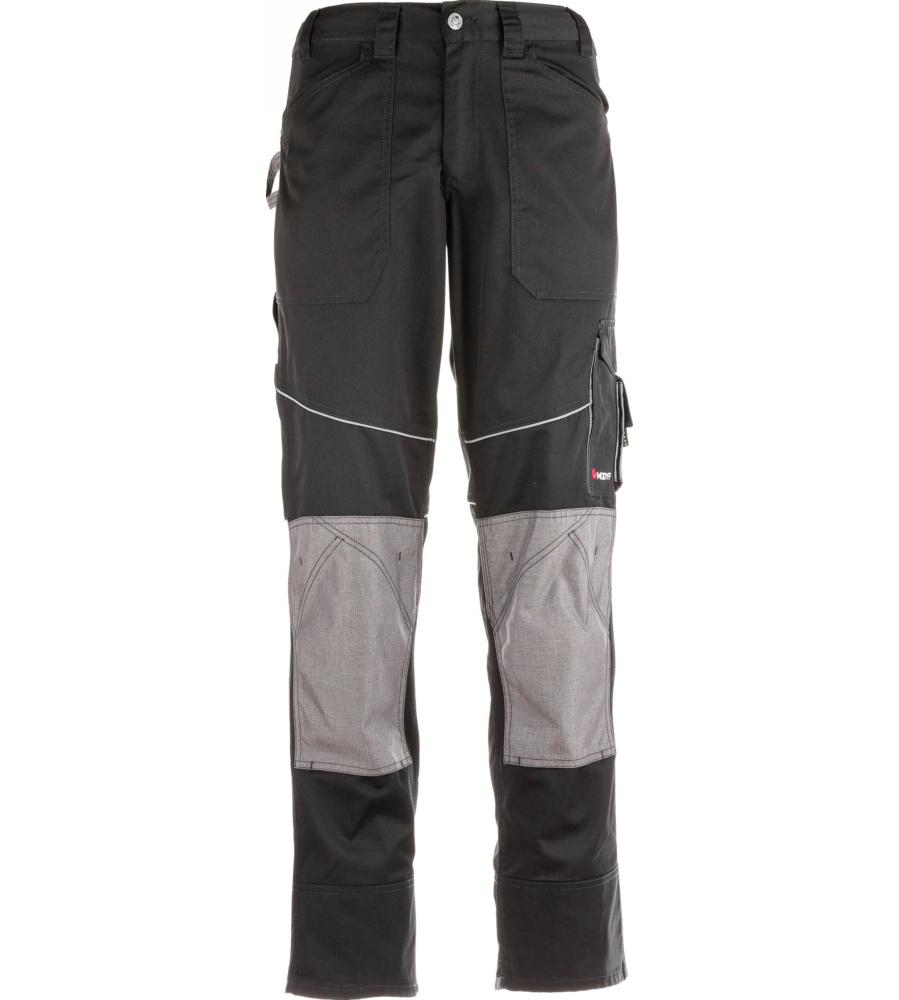 pantalon de travail noir et gris pour professionnels du btp modyf. Black Bedroom Furniture Sets. Home Design Ideas