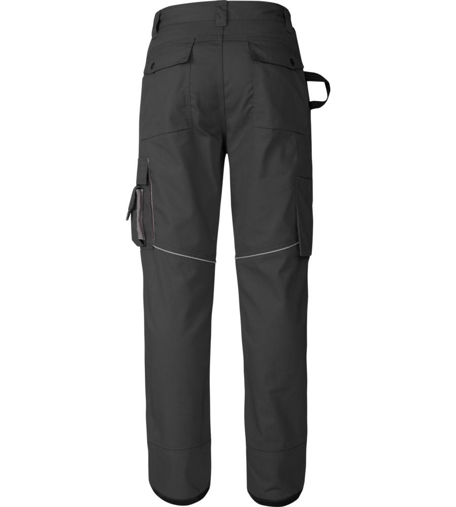 Pantalon de travail noir et gris pour professionnels du for Pantalon de cuisine noir