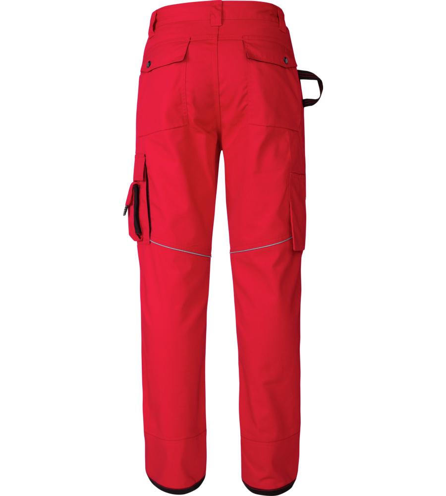 pantalon pour professionnels rouge et noir confortable modyf. Black Bedroom Furniture Sets. Home Design Ideas