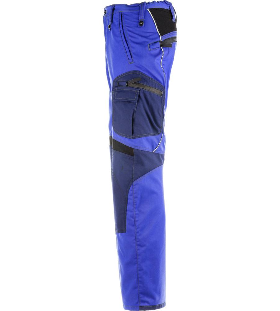 bequeme arbeitshose mit knieschutztaschen in royalblau f r profis. Black Bedroom Furniture Sets. Home Design Ideas