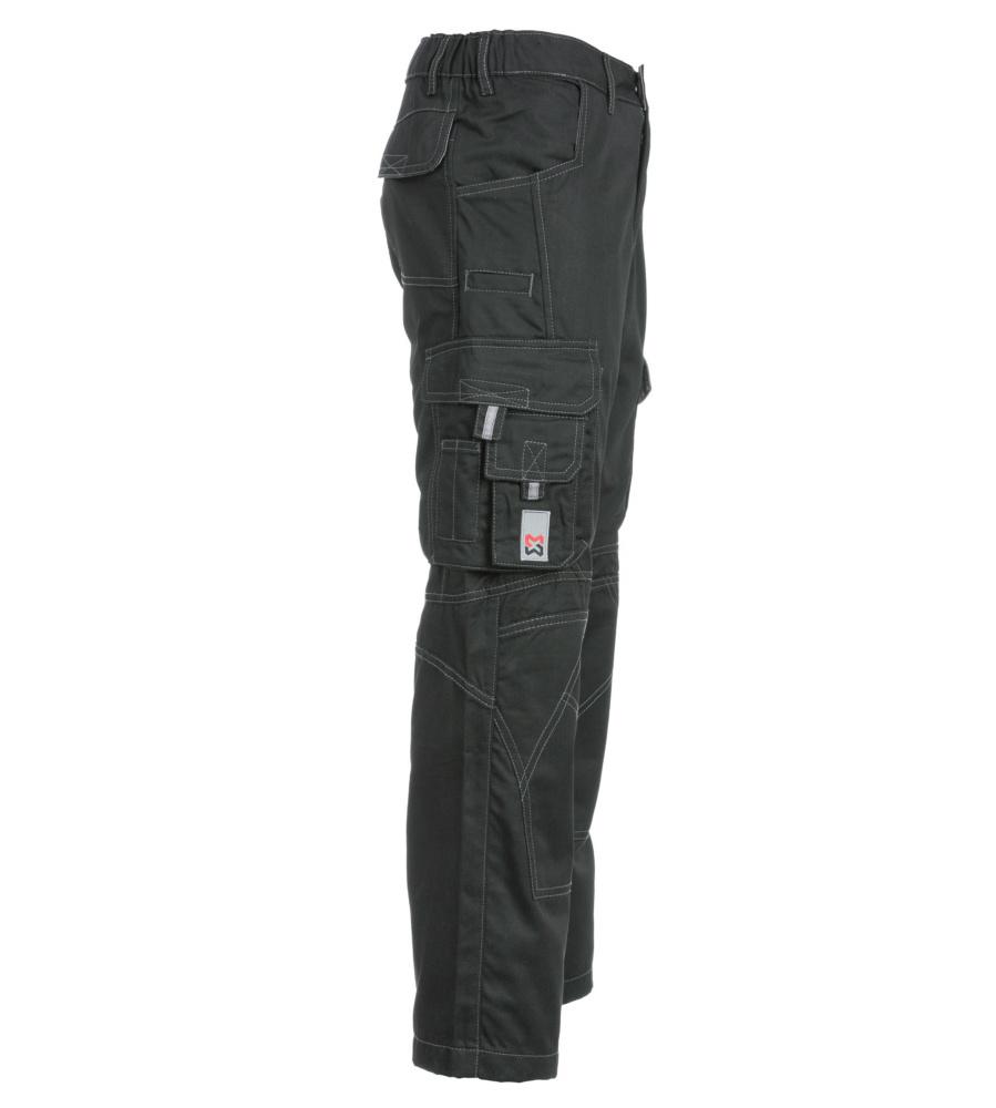 pantalon de travail noir homme multipoches w rth modyf. Black Bedroom Furniture Sets. Home Design Ideas