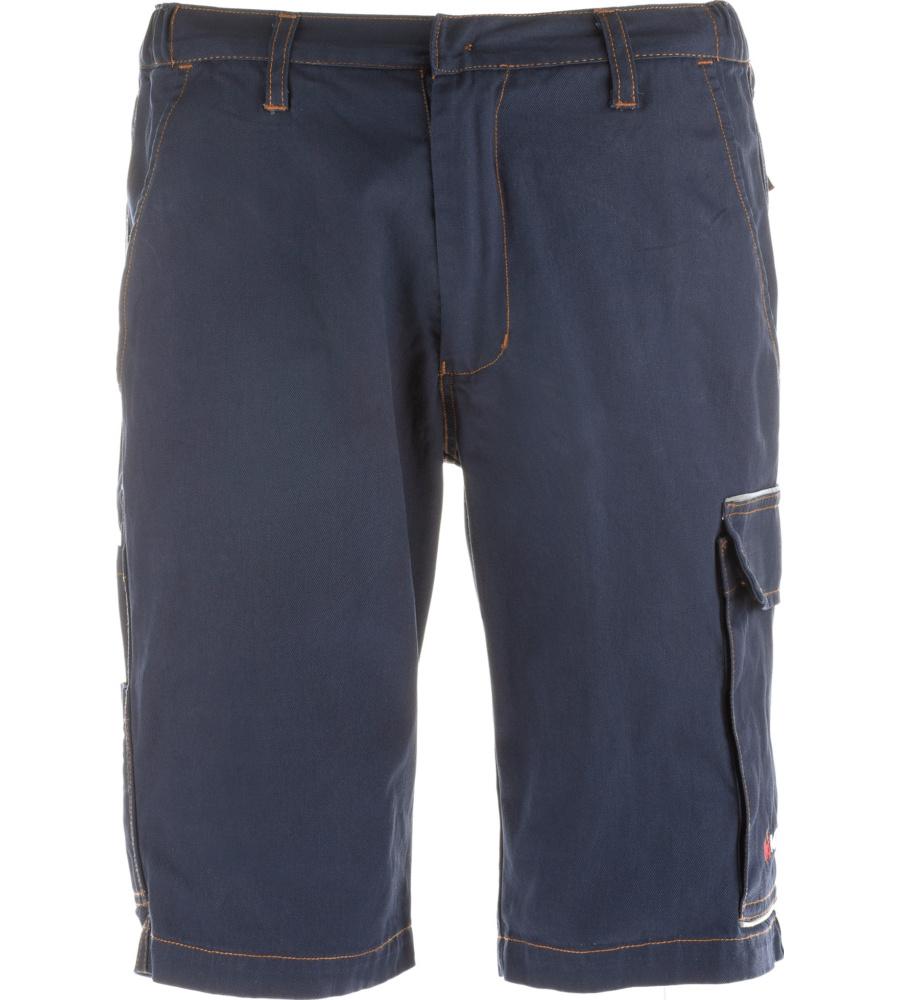 f442018df4d723 Praktische Arbeits-Shorts blau für Elektriker, 100% Baumwolle Gewebe,  atmungsaktiv und bequem ...