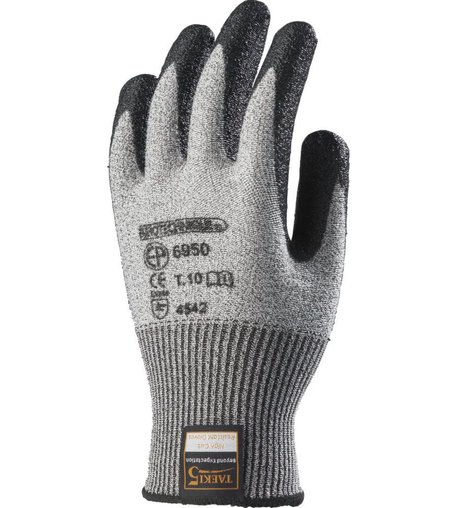 gants de protection anti coupure enduits nitrile taeki 5 en 388. Black Bedroom Furniture Sets. Home Design Ideas