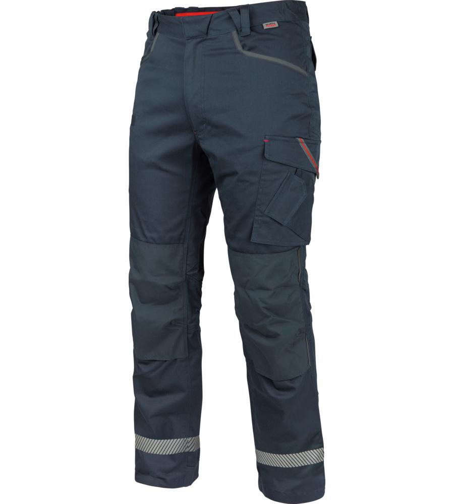 Pantalon De Travail Thermique Stretch X Würth Modyf Bleu (photo)