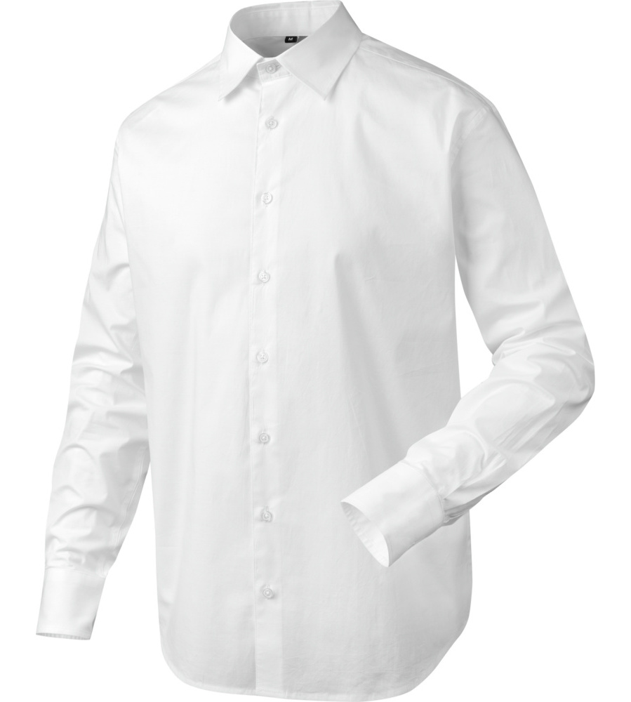 c64e6b35e19f4 Camisa blanca de oficina para hombre