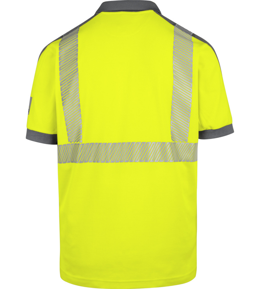 Business & Industrie Agrar, Forst & Kommune Warnschutz Poloshirt Neon En 20471 2 Orange Anthrazit