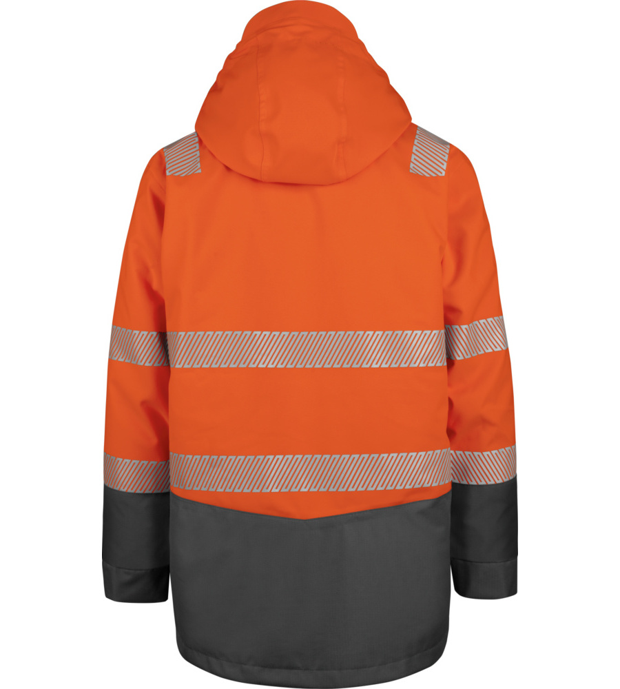 Warnschutz Winter Parka 3in1 Neon En 20471 3 Orange Anthrazit Business & Industrie