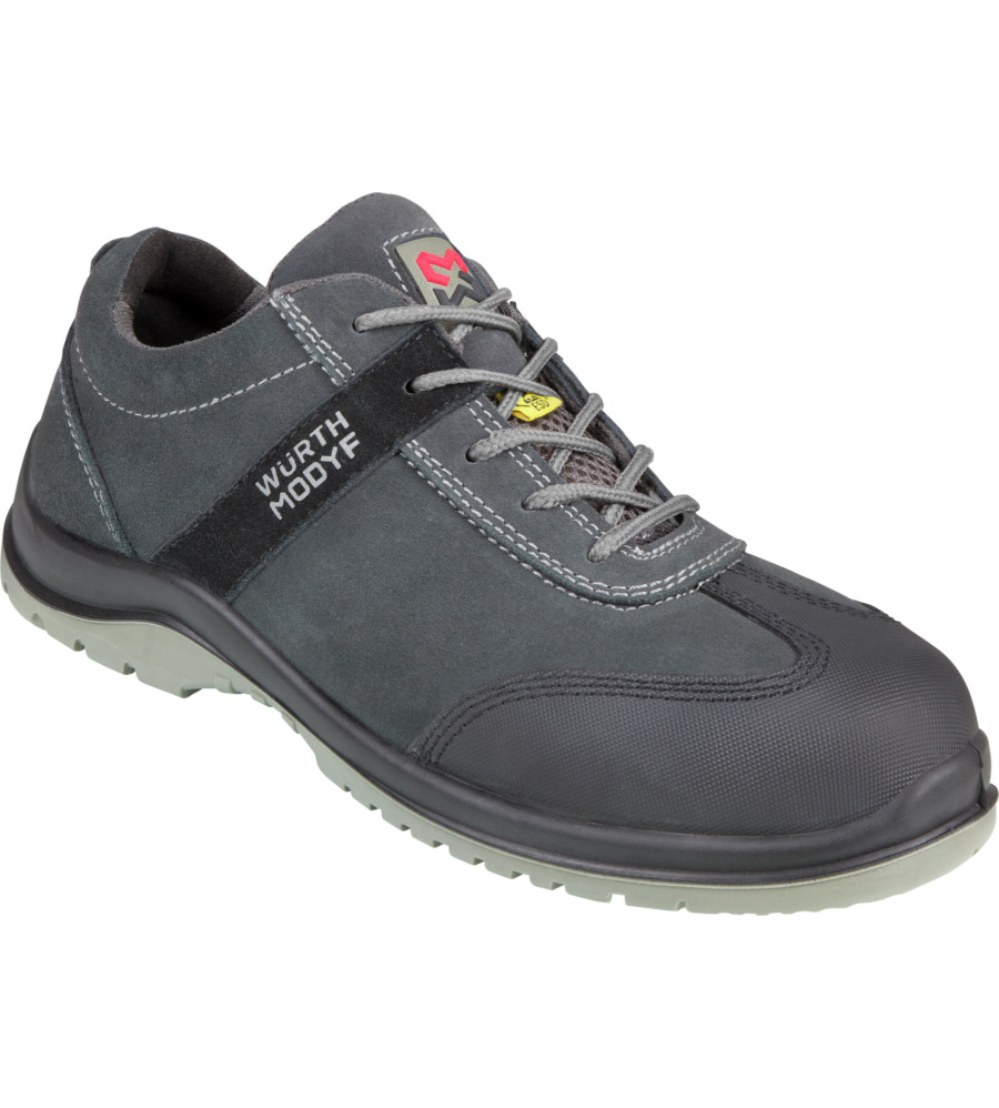 Chaussures De Sécurité Leo S1p Esd Würth Modyf Grises (photo)