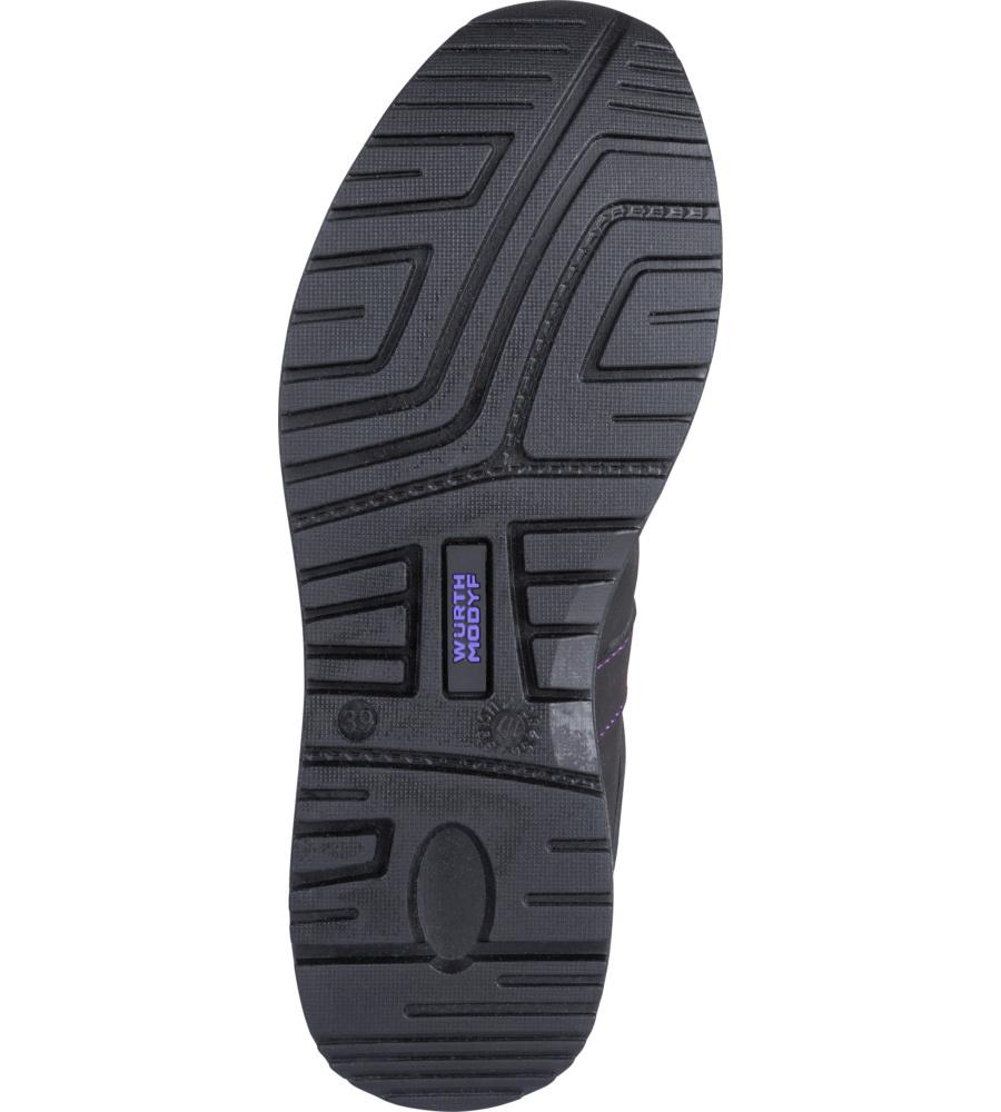 Chaussures De Travail De Carina Würth Modyf Noir / Violet jJ9sCBhM