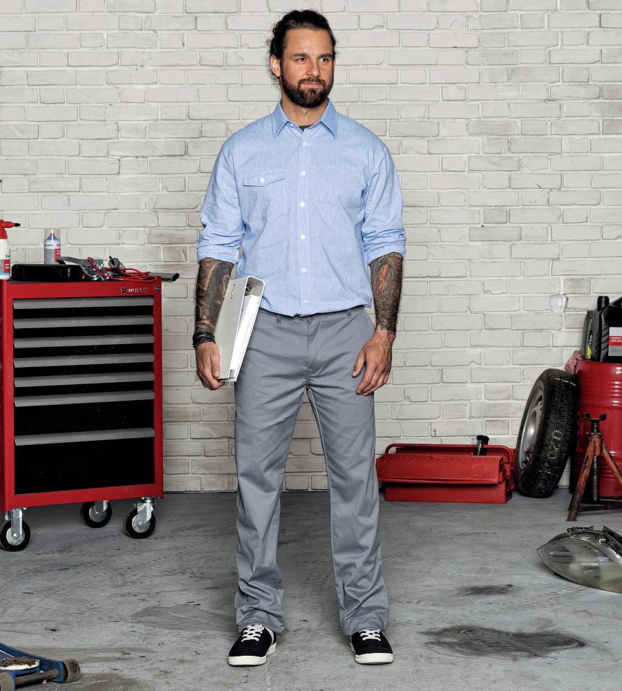... Photo de Pantalon professionnel Chino Würth MODYF gris ... 4b08c39387ae