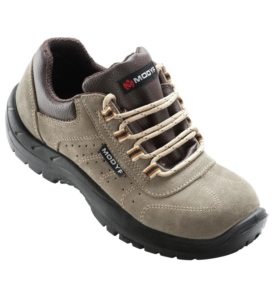 5a7eae6fb5c Zapato de Seguridad S1P Taupe-3 Beige